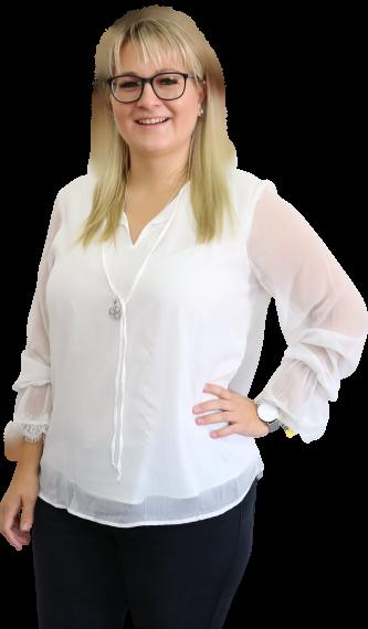 Nadine Pöschl, Wirtschaftsfachwirtin/Steuerfachangestellte, Finanzbuchführung und Lohnsachbearbeiterin der Steuerkanzlei Sabine Zillinger