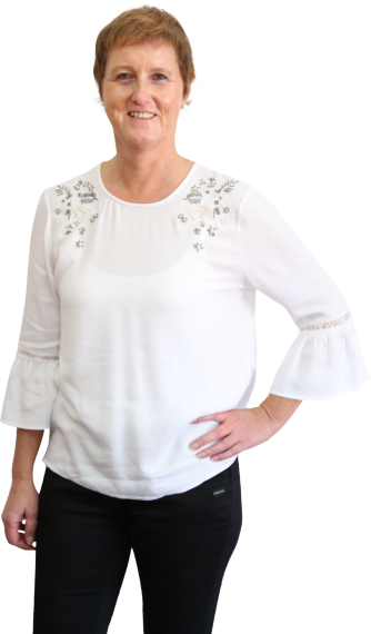 Helga Gigl, Steuerwachwirtin und Bilanzbuchhalterin der Steuerkanzlei Sabine Zillinger